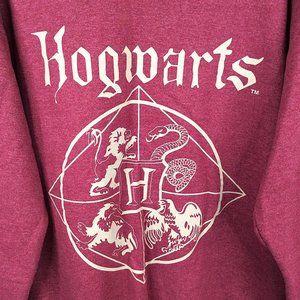 Harry Potter Shirts - Harry Potter Hogwarts Crest Graphic Sweatshirt
